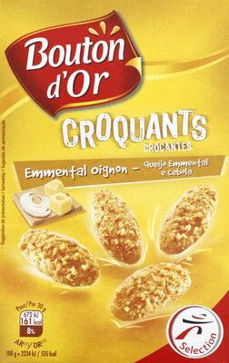 Biscuits croquants emmental oignon - Produit - fr