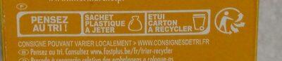 Biscuits croquants emmental oignon - Instruction de recyclage et/ou informations d'emballage - fr