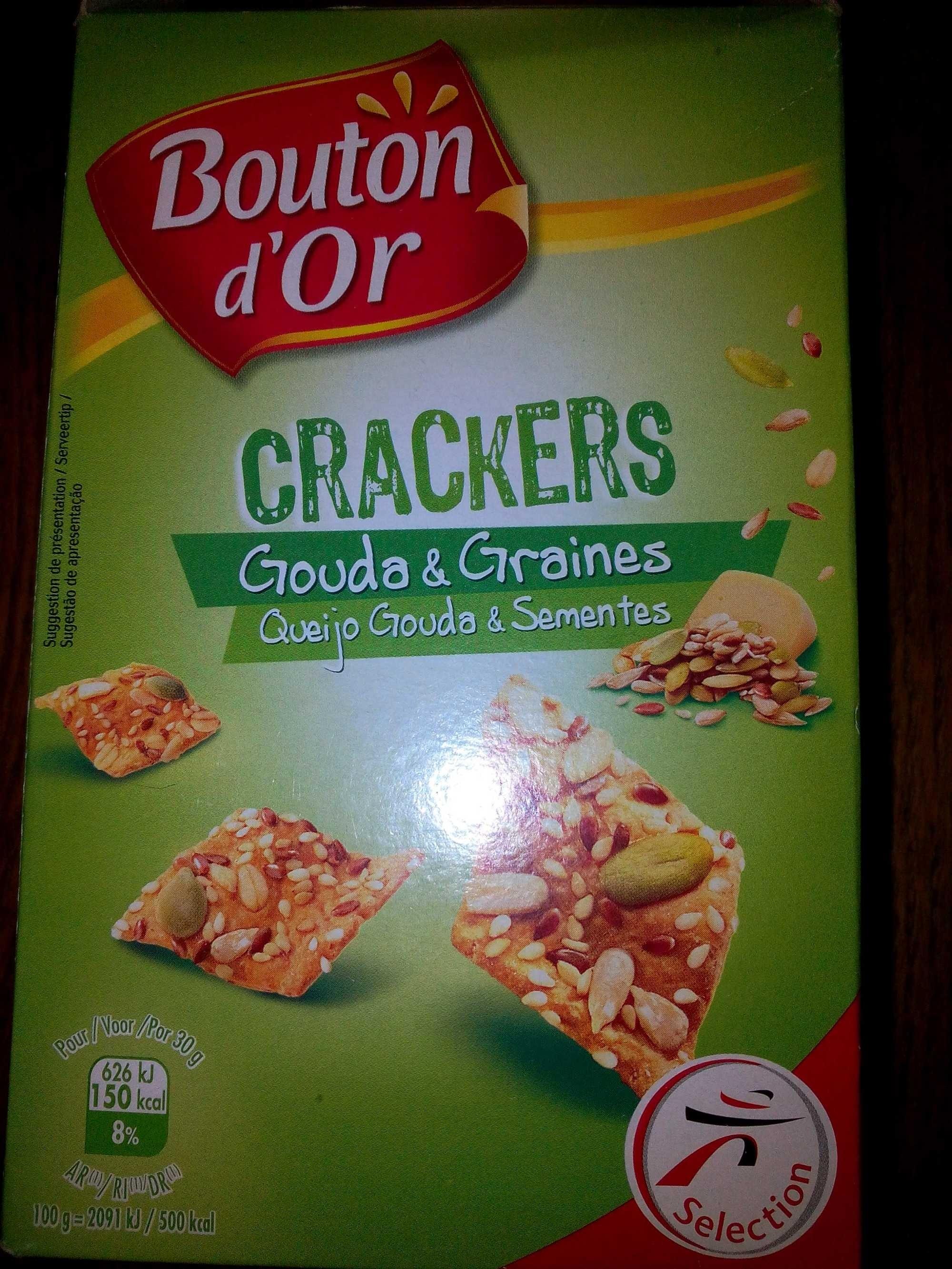 Crackers Gouda et Graines - Produit