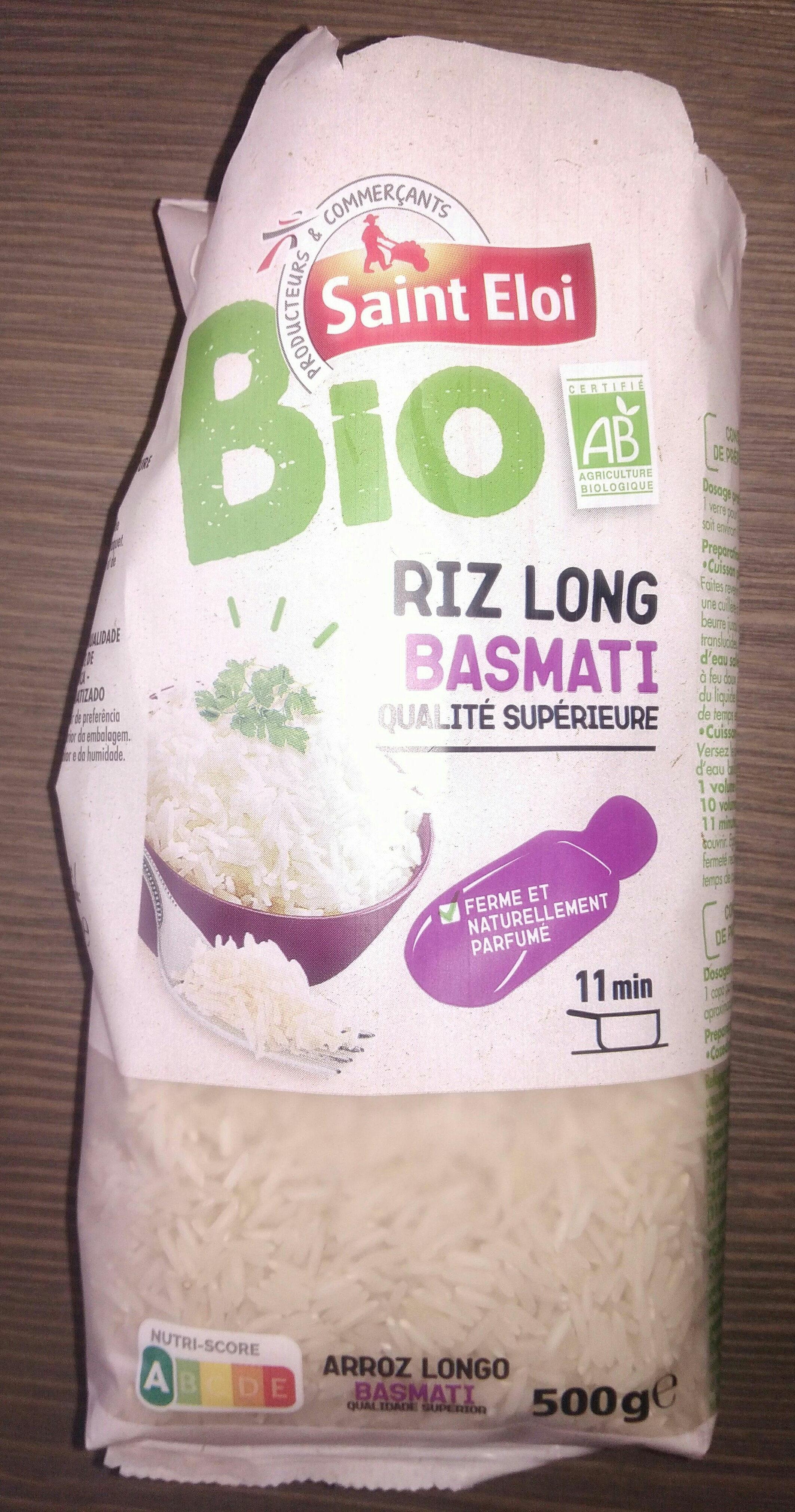 Riz long basmati ferme et naturellement parfumé - Product