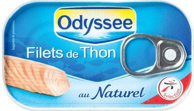 Filets de thon au naturel - Prodotto - fr