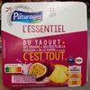 Du yaourt + des ananas + des fruits de la passion + de la pomme & du sucre c'est tout - Product
