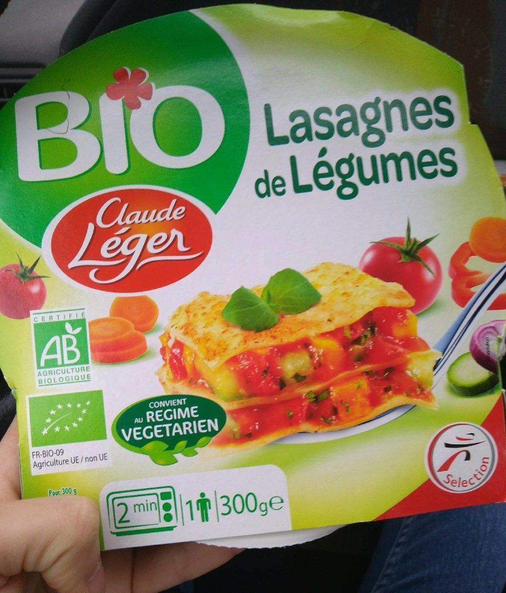 Lasagnes de legumes - Produit - fr