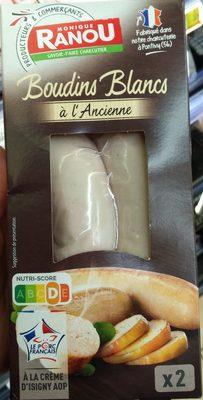 Boudins blancs à l'ancienne à la crème d'Isigny AOP - Produit - fr