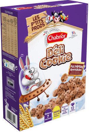 Céréales déli cookie aux pépites chocolatées - Product - fr