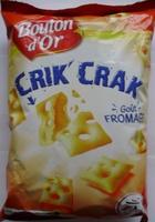 Crik'Crak Goût Fromage - Produit - fr