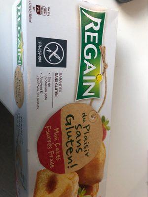 Cake Fraise sans Gluten - Product