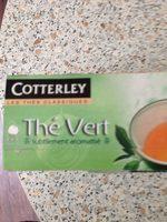 Cotterley Thé vert - Product - fr
