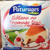 Gâteau au fromage frais & son coulis de framboise - Produit