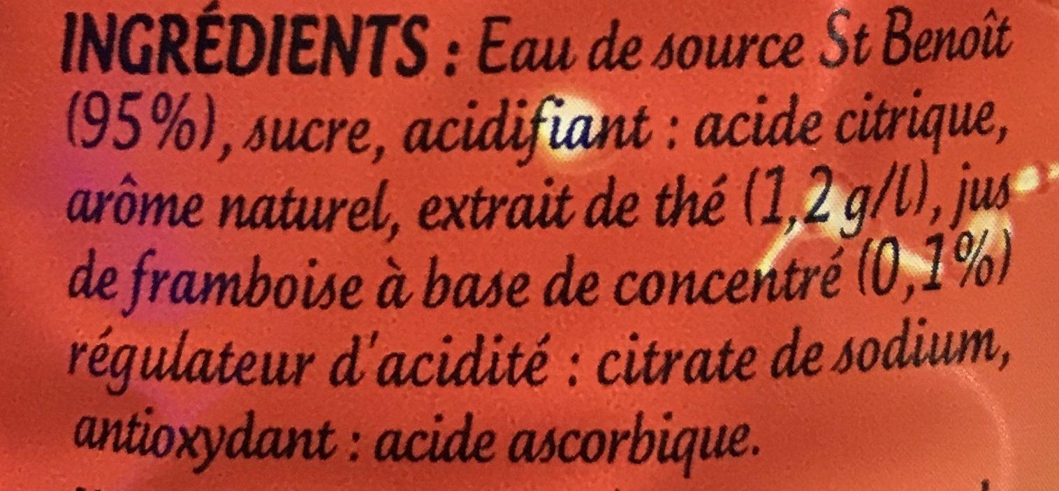 Look iced tea - Ingredients - fr