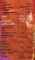 Look iced tea - Nutrition facts