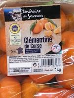 Clémentines de Corse - Product