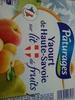 Yaourt de Haute-Savoie sur lit de fruits - Product