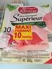 Mon Gourmand Supérieur sans couenne (10 tranches) - Product