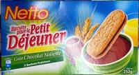 Biscuits pour le Petit Déjeuner - goût chocolat noisette - Product - fr