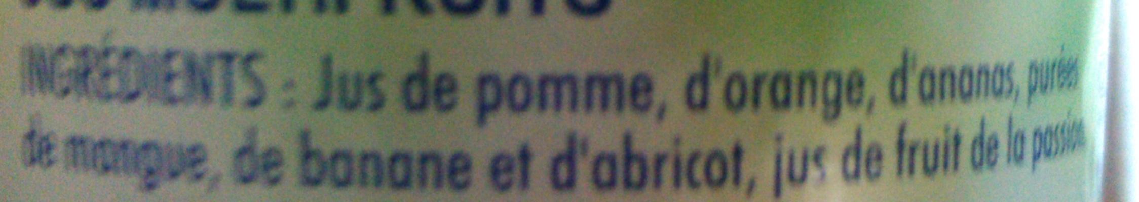 Jus Multifruits - Ingrediënten - fr
