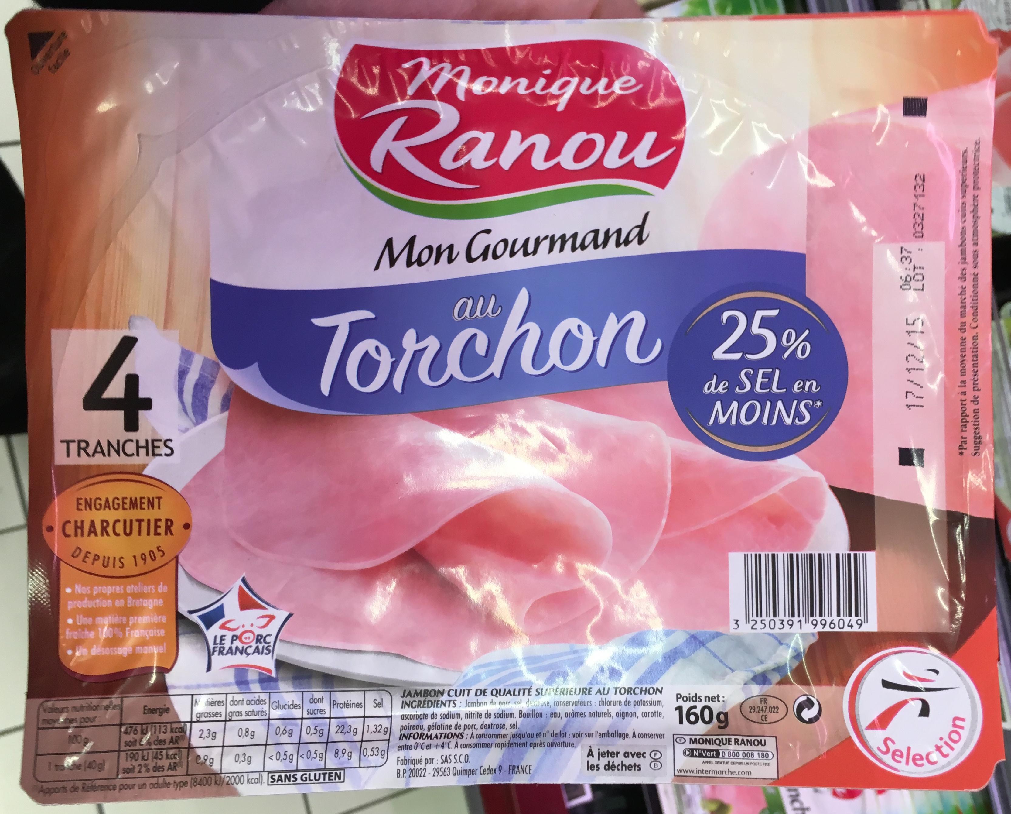 Mon Gourmand au Torchon (25% de sel en moins) - Produit