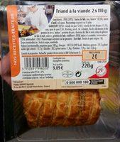 Friand à la viande - Produit - fr
