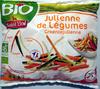 Julienne de légumes bio surgelé Saint Eloi - Produit