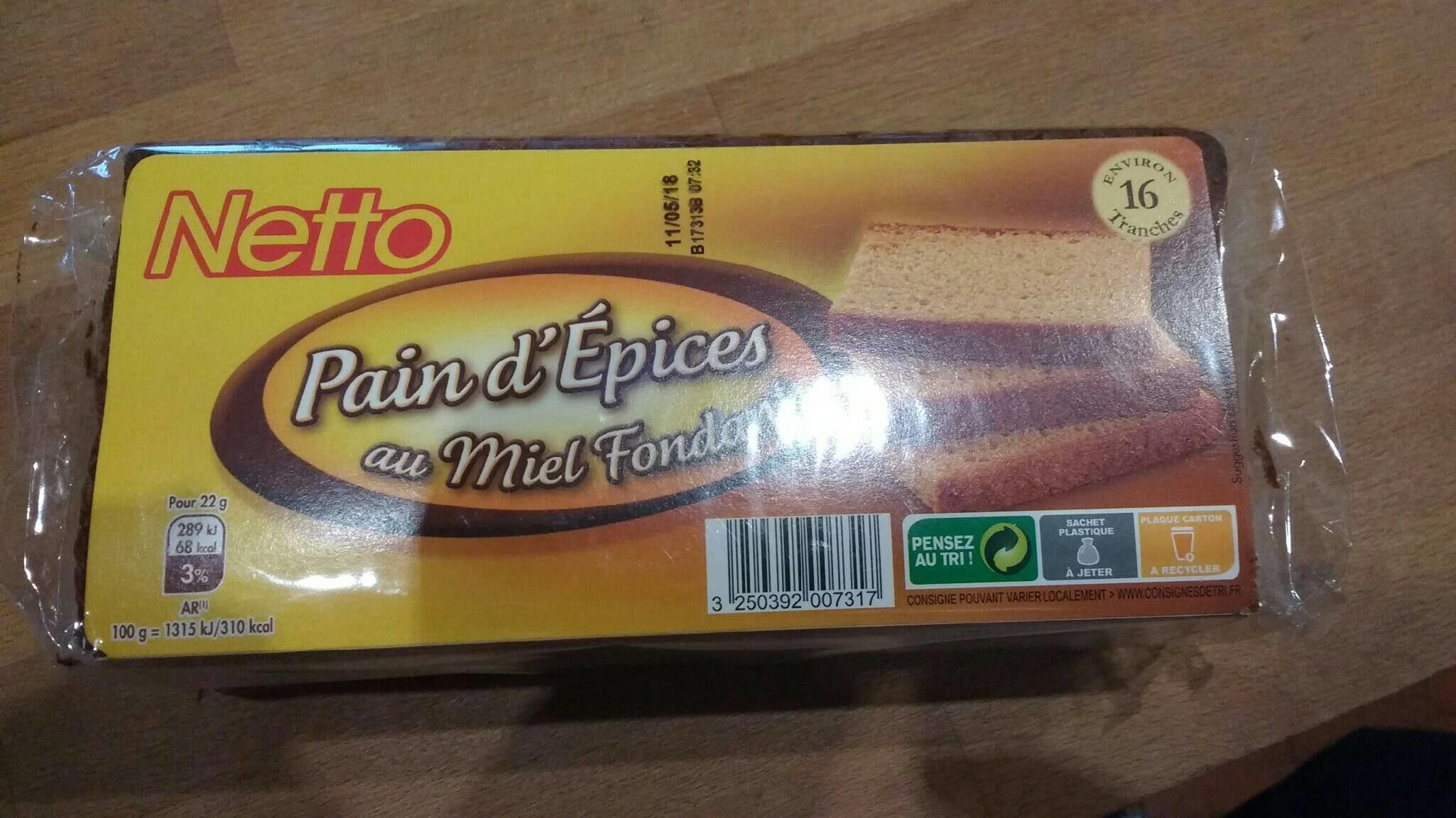 Pain d'épices au miel fondant - Product - fr