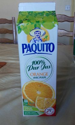 Jus d'orange sans pulpe100% pur jus - Product