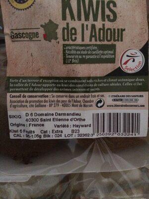 Kiwis de l'Adour - Ingredients - fr