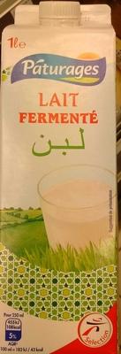 Lait fermenté Pâturages - Produit - fr