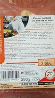 Panier feuilleté au chèvre et miel - Product - fr