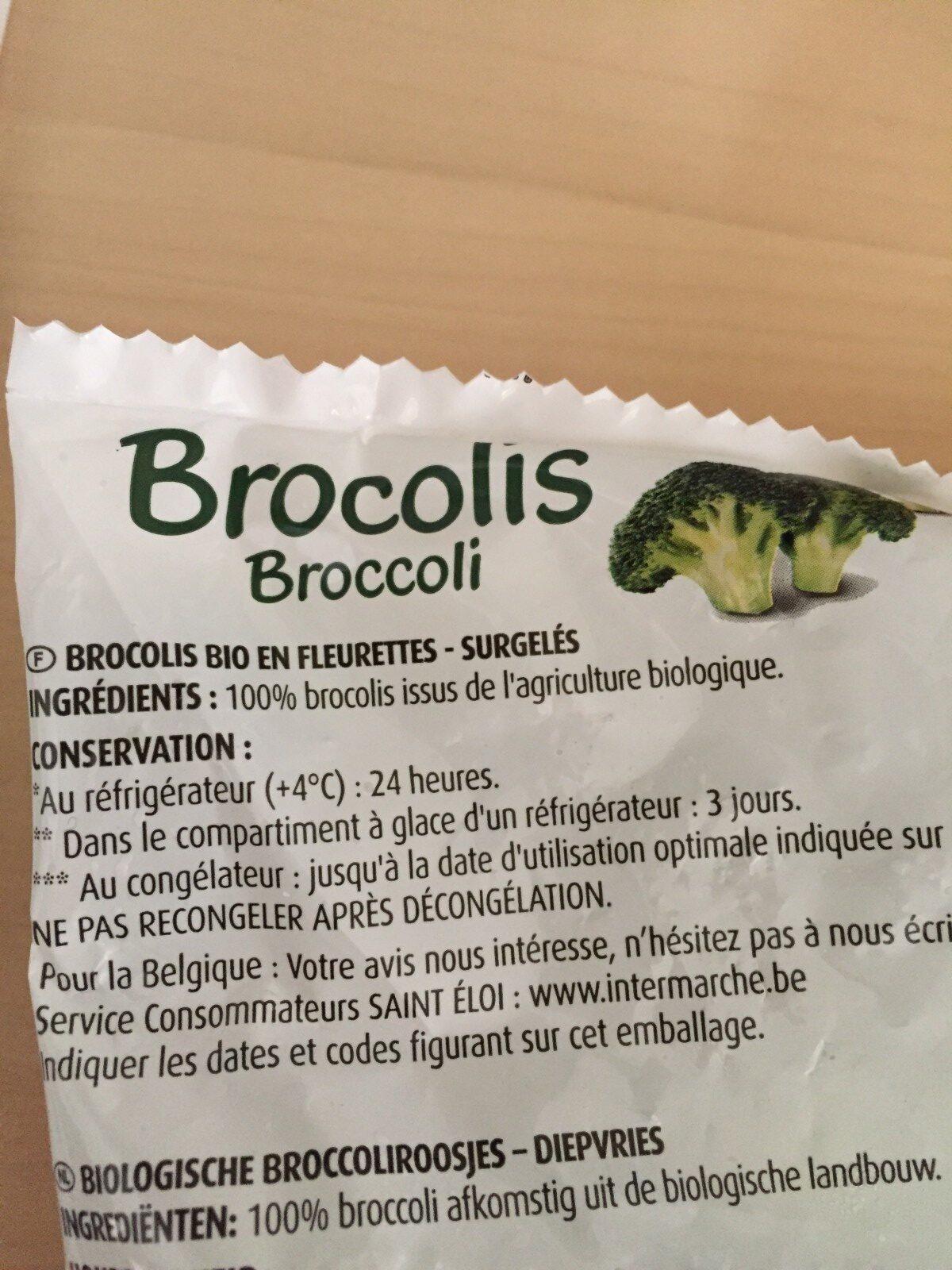 Brocolis bio - Ingrediënten - fr