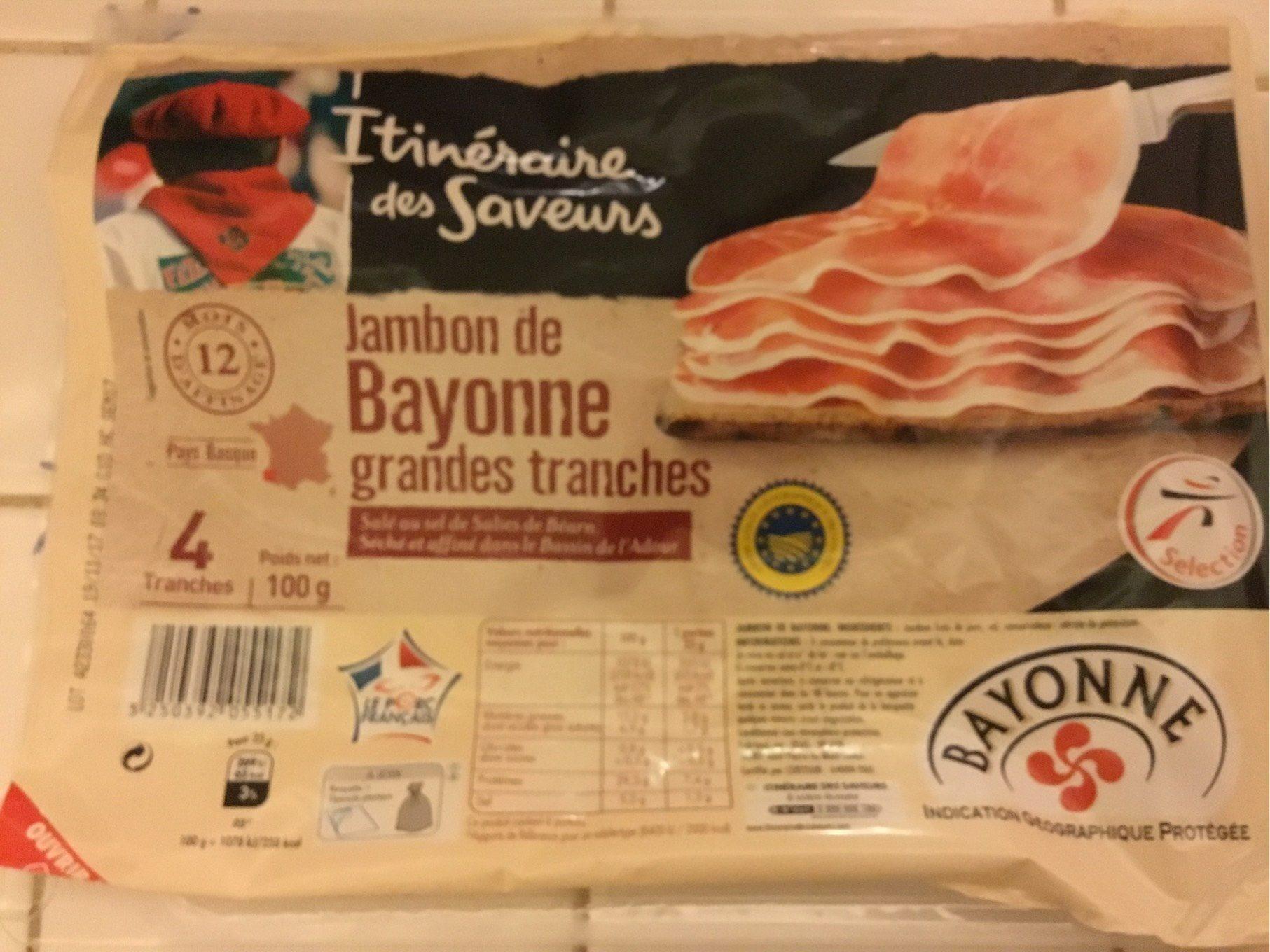 Jambon de Bayonne - Product - fr