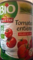 Tomates entières pelées Bio - Produit - fr