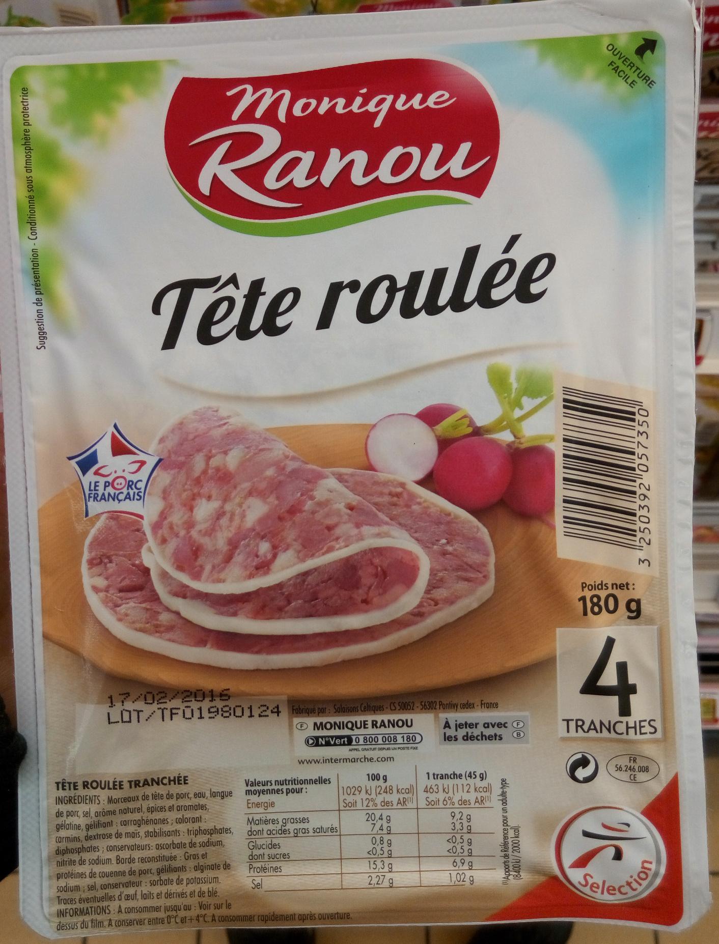 Tête roulée - Produit - fr