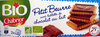 Petit Beurre avec tablette de chocolat au lait BIO - Produit