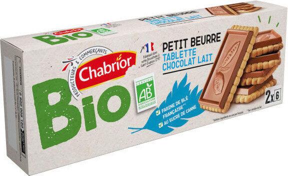 Petit beurre tablette chocolat lait bio - Produit - fr