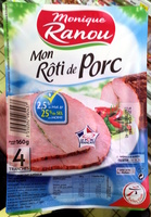 Mon Rôti de Porc (2,5% MG) (-25% sel) - Produit
