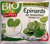 Epinards en branches Bio - Produit