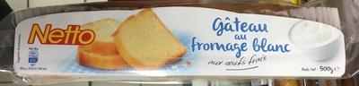 Gâteau au fromage blanc aux œufs frais - Product - fr