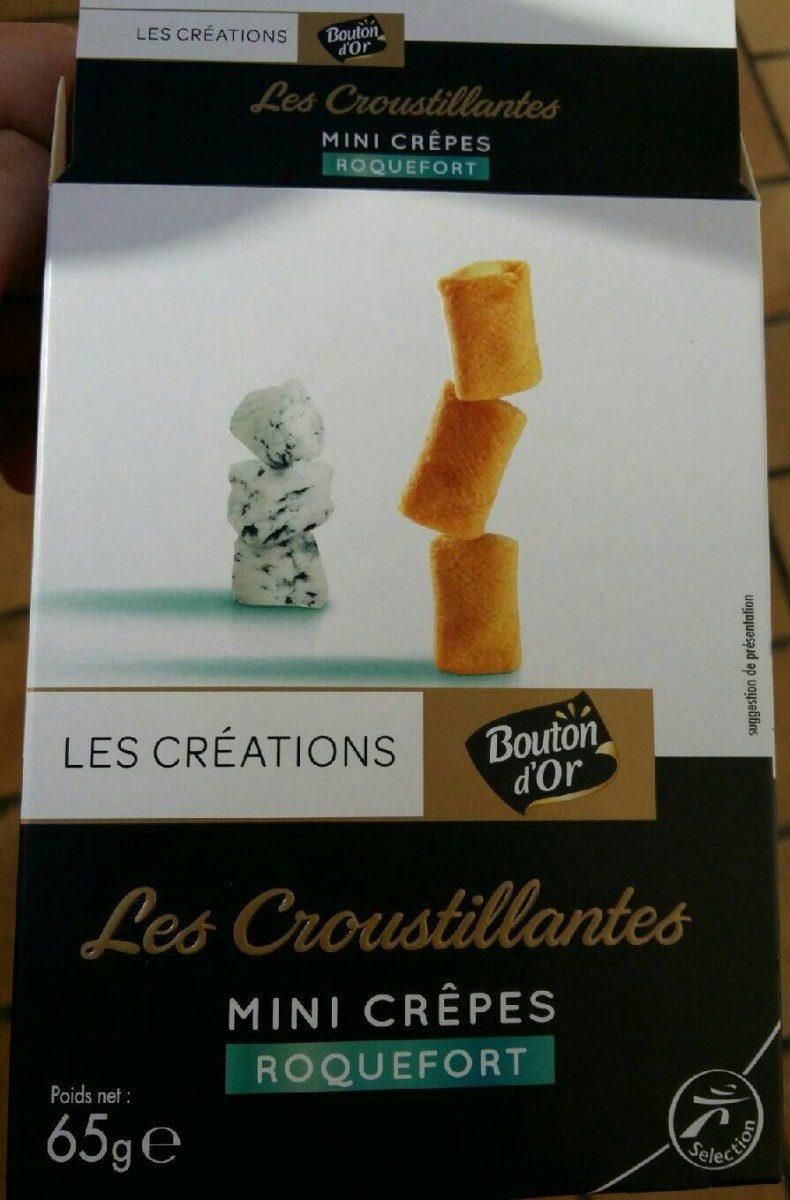 Mini crêpes Roquefort - Product - fr