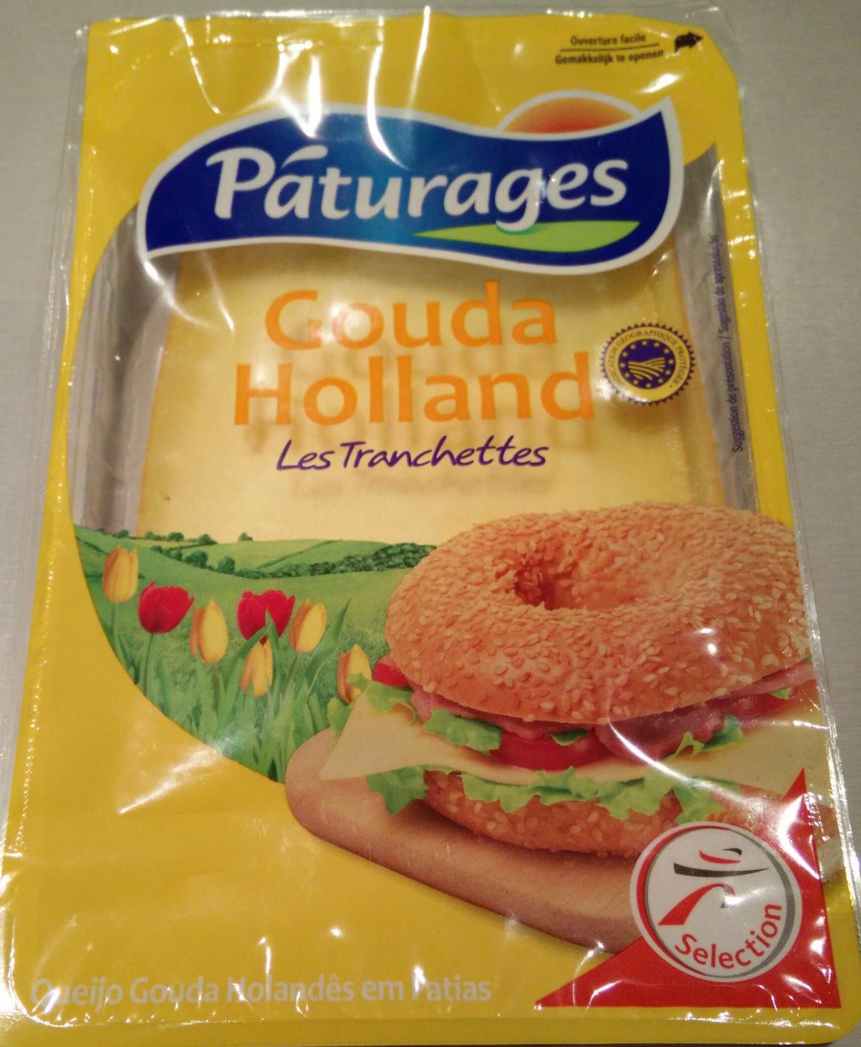 Gouda Holland les tranchettes (30 % M.G.) - Produit