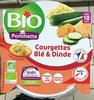 Courgettes Blé & Dinde - Prodotto