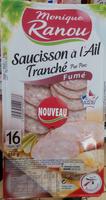 Saucisson à l'Ail Tranché - Produit - fr