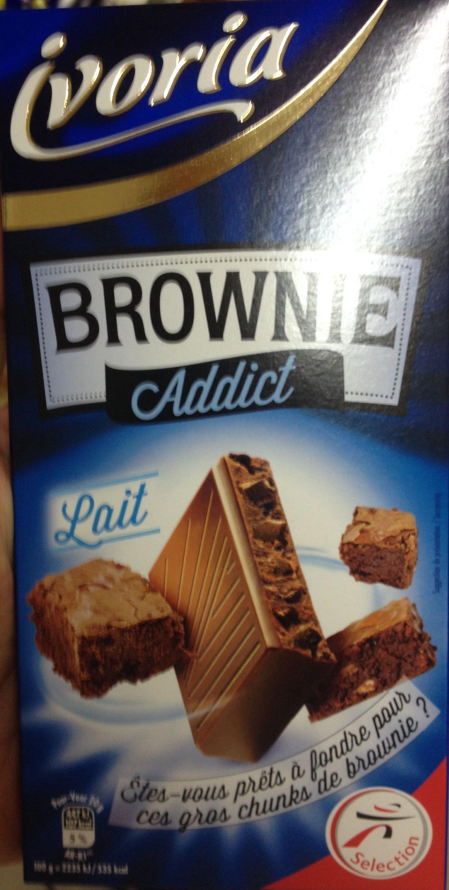 Brownie Addict Lait - Produit