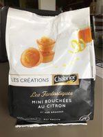 Les Créations Les Fantastiques mini bouchées au citron et aux amandes le sachet de 210 g - Product