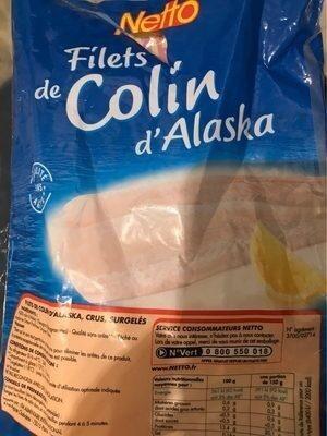 Filet de Colin d'Alaska - Product - fr