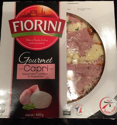 La Pizza Capri mozzarella jambon roquette - Produit