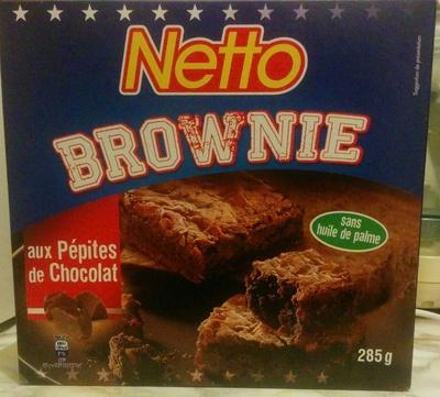 Brownie aux pépites de chocolat - Produit