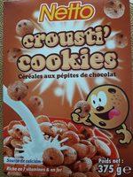 Crousti cookies - Product - fr
