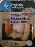 Véritable choucroute garnie d'Alsace au riesling - Product - fr