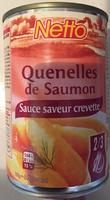 Quenelles de Saumon sauce Saveur Crevette - Product - fr