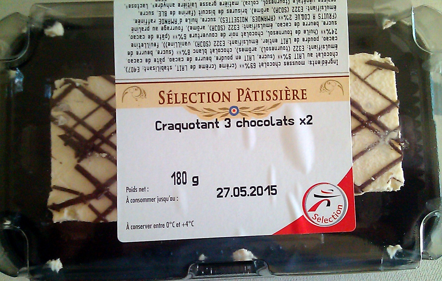 Craquotant 3 chocolats x2 - Product